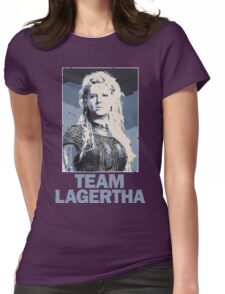 Team Lagertha - Vikings, History Channel Womens Fitted T-Shirt