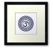 The Crown Chakra Framed Print