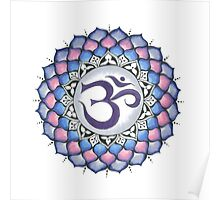 The Crown Chakra Poster