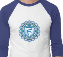 The Throat Chakra Men's Baseball ¾ T-Shirt