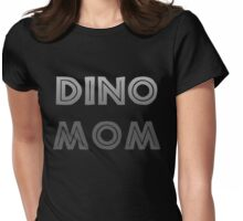 Dino Mom Womens Fitted T-Shirt