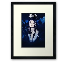 Btvs Season 1 Framed Print