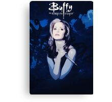 Btvs Season 1 Canvas Print