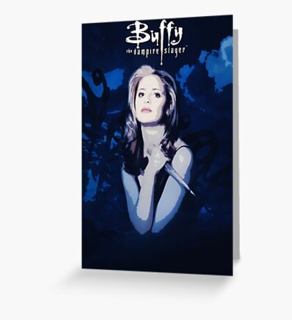 Btvs Season 1 Greeting Card