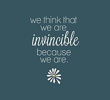 Invincible by deanlosechester