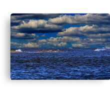 IT'S A BLUE DAY Canvas Print