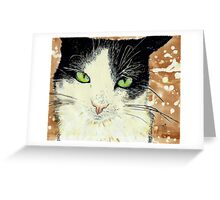 Bratitude with Catitude Greeting Card