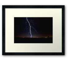 Striking Broadway Framed Print
