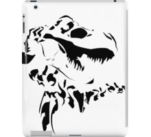 Rex - Black on White iPad Case/Skin