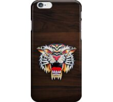 Traditional Tiger Tattoo iPhone Case/Skin