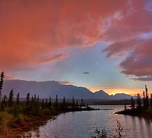Jasper Lake Glow by JamesA1