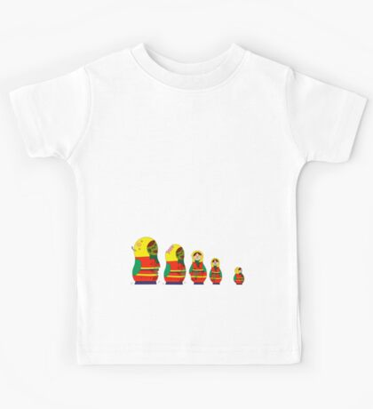 Awesome Zombie Rushing Dolls Kids Tee