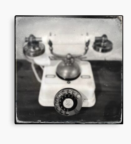Rotary dial telephone, c.1920s (2013) Canvas Print