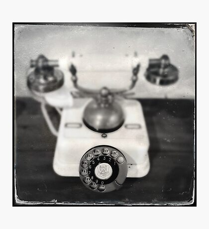Rotary dial telephone, c.1920s (2013) Photographic Print