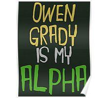 Owen Grady is My Alpha Poster