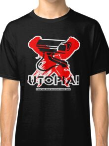 UTPOPIA! - Outline Version - by Psychological Industries Classic T-Shirt
