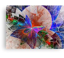 Shattered Layers Canvas Print