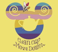 Clean Cup, Move Down! Kids Clothes
