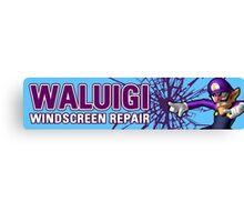 Mario Kart 8 Walugi Windscreens Canvas Print