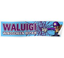 Mario Kart 8 Walugi Windscreens Poster