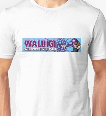 Mario Kart 8 Walugi Windscreens Unisex T-Shirt