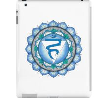 The Throat Chakra iPad Case/Skin