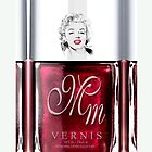 Marilyn Monroe Maroon Nail Polish apple iphone 5, iphone 4 4s, iPhone 3Gs, iPod Touch 4g case by Pointsale store.com