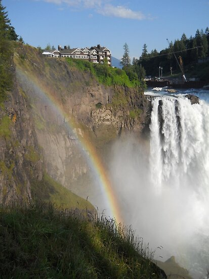 Snoqualmie Falls by Mike Cressy