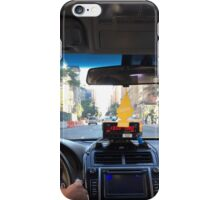 Taxi Home to NYC iPhone Case/Skin