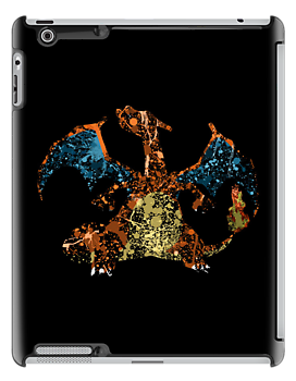 Charizard Splatter by Colossal