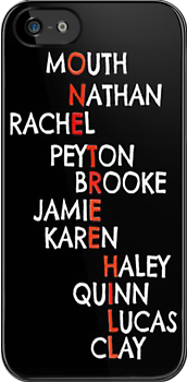 One Tree Hill (Names) - Iphone case  by sullat04