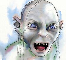 Gollum. by Hayley Thompson