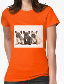 Puppy Pals  Womens Fitted T-Shirt