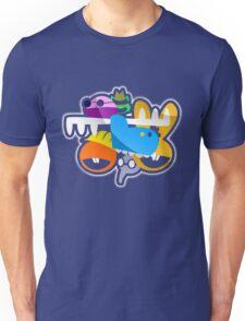 Happy Tree Faces Unisex T-Shirt
