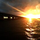 a bridge to the setting sun by thehylian