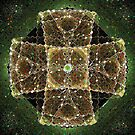 Jewelled Cross.Fractal and Photoshop.... by Billlee