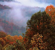 AUTUMN STORM by Chuck Wickham