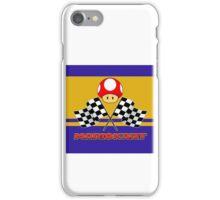 Mario Kart Chequered Flags iPhone Case/Skin