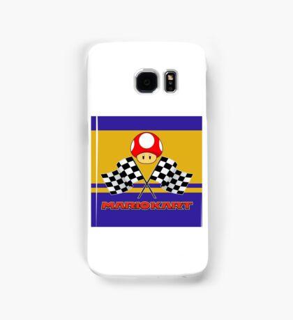 Mario Kart Chequered Flags Samsung Galaxy Case/Skin