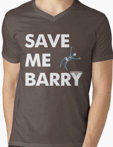 Save Me Barry Mens V-Neck T-Shirt