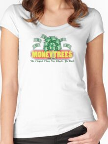 Kendrick Lamar - Money Trees Women's Fitted Scoop T-Shirt