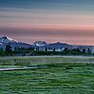 Cascades Sunrise by Cat Connor