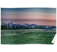 Cascades Sunrise Poster