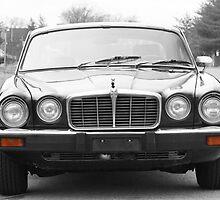Vintage Jaguar Coupe  by Daniel  Oyvetsky