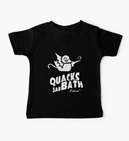 Quacks sabBath by lilterra.com Baby Tee