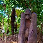 Big baboon in Africa by Kirk D. Belmont Photography