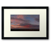 ©HCS Country Cloud Framed Print