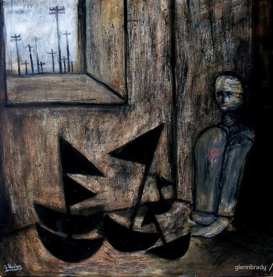 his black boats by glennbrady
