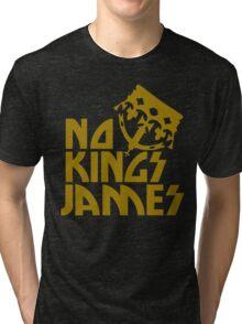 NO KINGS JAMES T GOLD Tri-blend T-Shirt