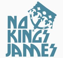 NO KINGS JAMES BLUE T Kids Clothes